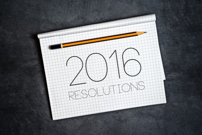 It's 2016 – Time for The New Year's Resolutions